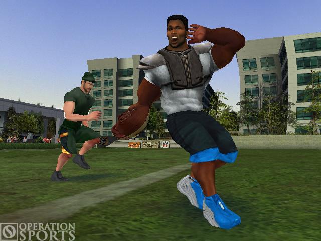 NFL Street Screenshot #1 for Xbox