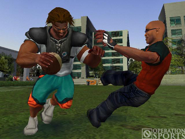 NFL Street Screenshot #3 for Xbox