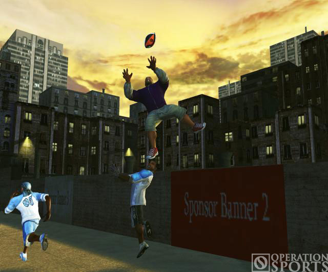 NFL Street 2 Screenshot #1 for Xbox