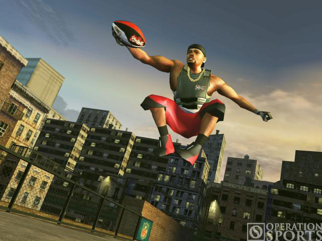 NFL Street 2 Screenshot #2 for Xbox