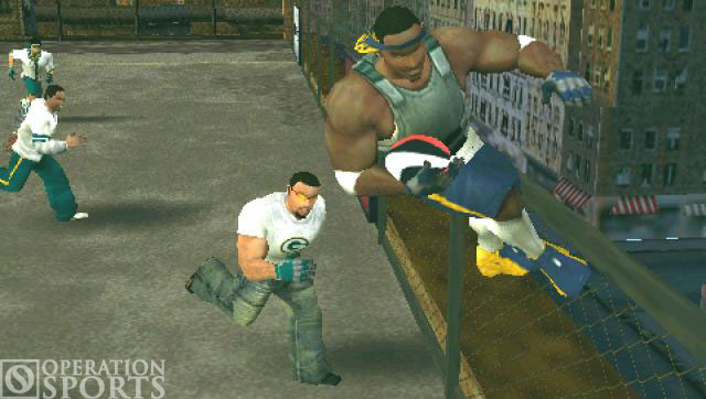 NFL Street 2: Unleashed Screenshot #1 for PSP