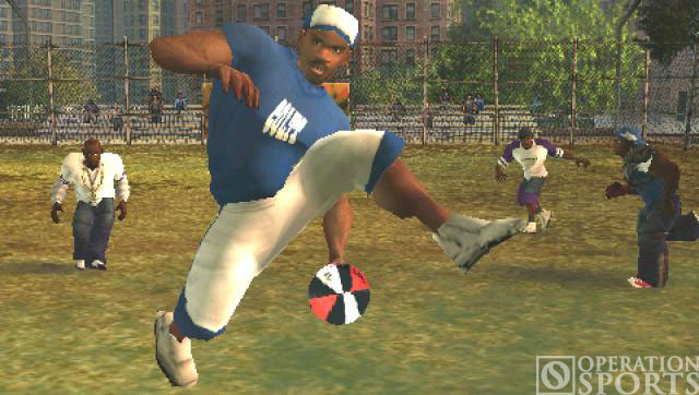 NFL Street 2: Unleashed Screenshot #2 for PSP