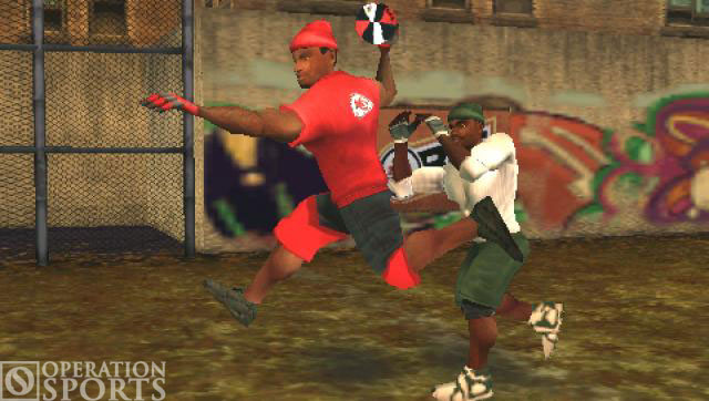 NFL Street 2: Unleashed Screenshot #3 for PSP