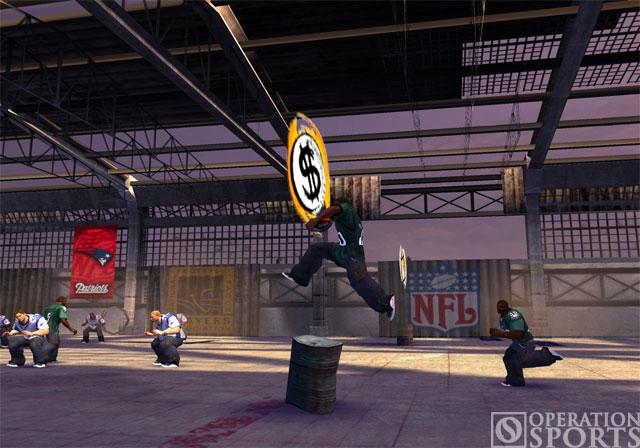 NFL Street 3 Screenshot #2 for PS2