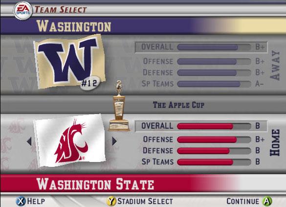 NCAA Football 2003 Screenshot #2 for Xbox