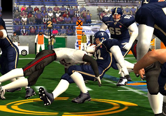 NCAA Football 2K3 Screenshot #1 for Xbox