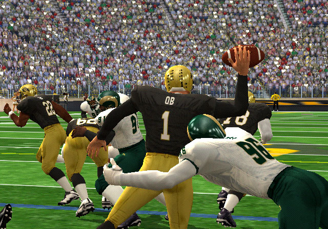 NCAA Football 2K3 Screenshot #2 for Xbox