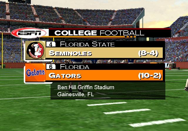 NCAA Football 2K3 Screenshot #3 for Xbox