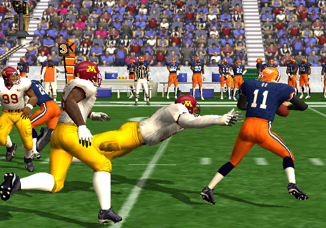NCAA Football 2K3 Screenshot #5 for Xbox
