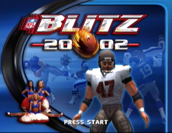 NFL Blitz 20-02 Screenshot #1 for Xbox