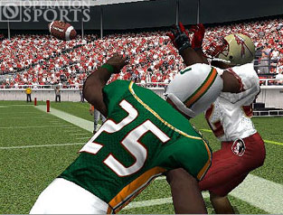 NCAA GameBreaker 2004 Screenshot #1 for PS2