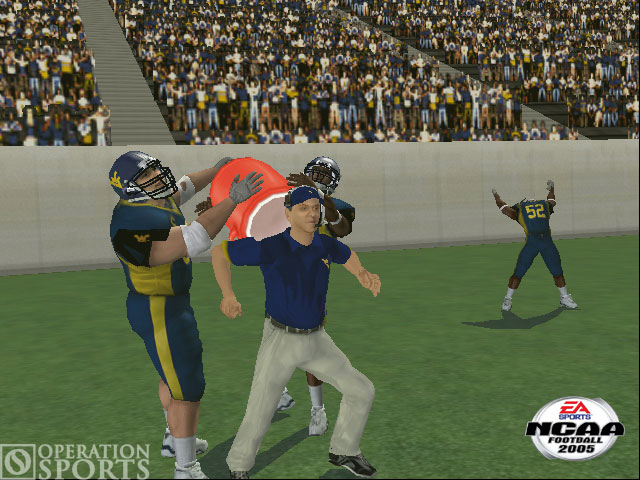 NCAA Football 2005 Screenshot #1 for Xbox
