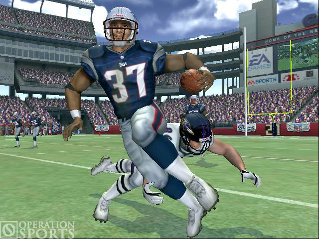 Madden NFL 2005 Screenshot #1 for Xbox