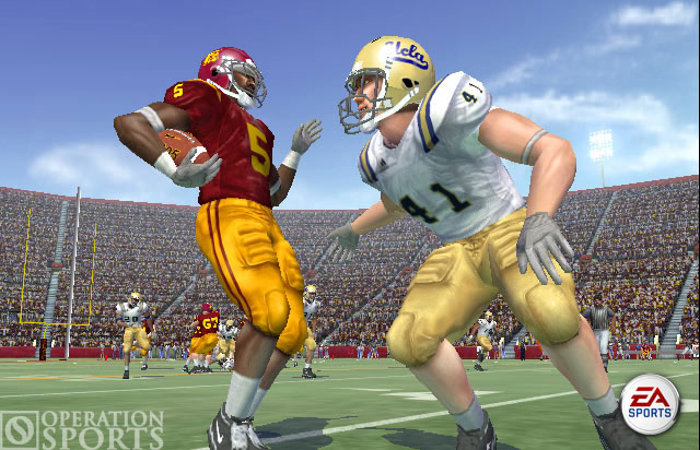 NCAA Football 06 Screenshot #1 for Xbox