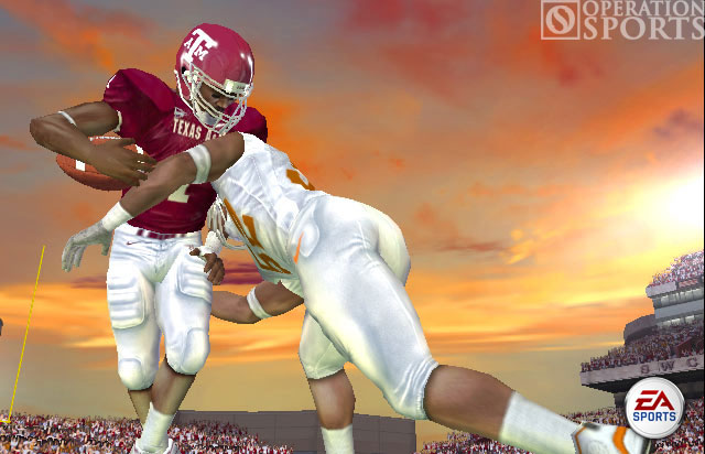 NCAA Football 06 Screenshot #3 for Xbox