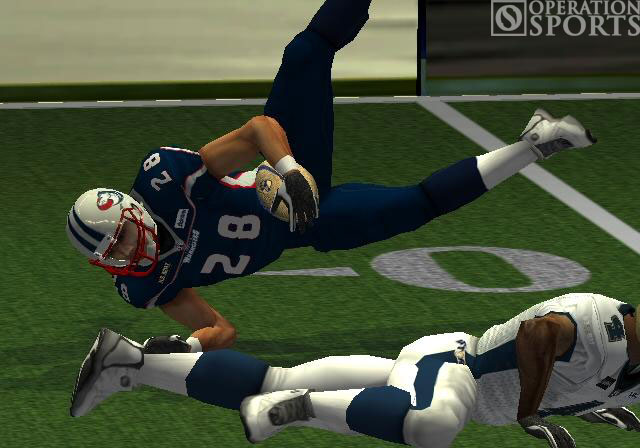 Arena Football: Road to Glory Screenshot #1 for PS2