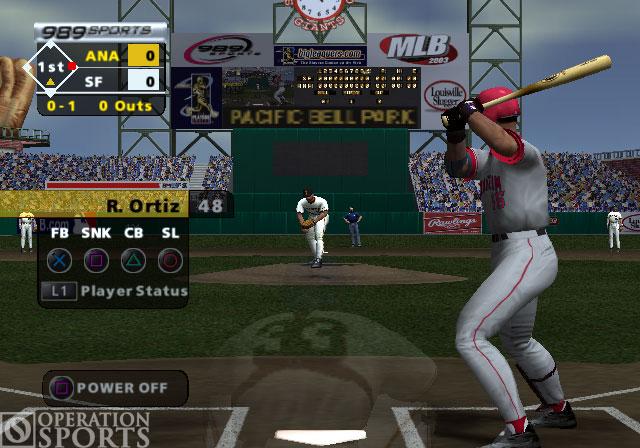 MLB 2004 Screenshot #2 for PS2