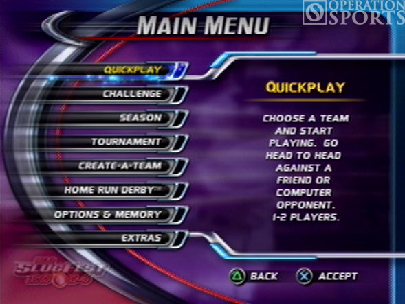 MLB Slugfest 20-04 Screenshot #1 for PS2