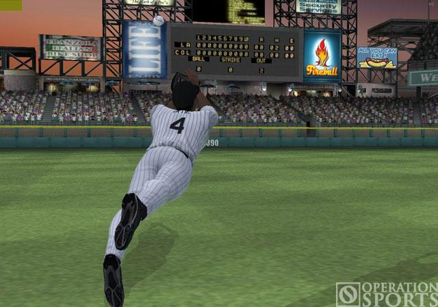 MLB 2005 Screenshot #1 for PS2