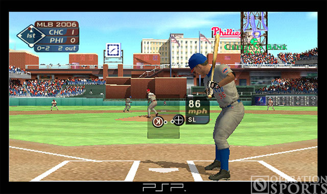 MLB '05 Screenshot #1 for PSP
