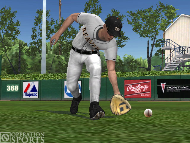 MVP 07 NCAA Baseball Screenshot #2 for PS2