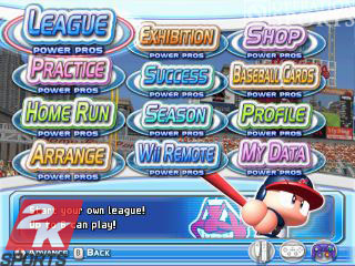 MLB Power Pros Screenshot #1 for Wii
