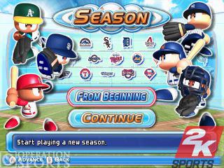 MLB Power Pros Screenshot #2 for Wii