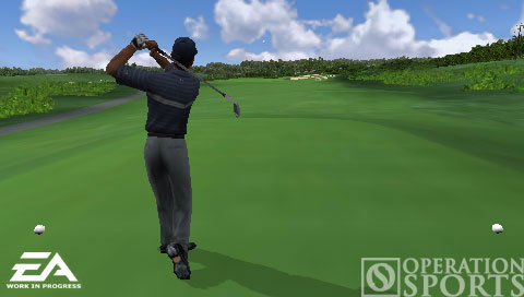 Tiger Woods PGA TOUR Screenshot #1 for PSP