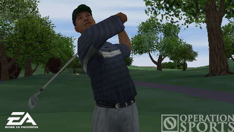 Tiger Woods PGA TOUR Screenshot #2 for PSP