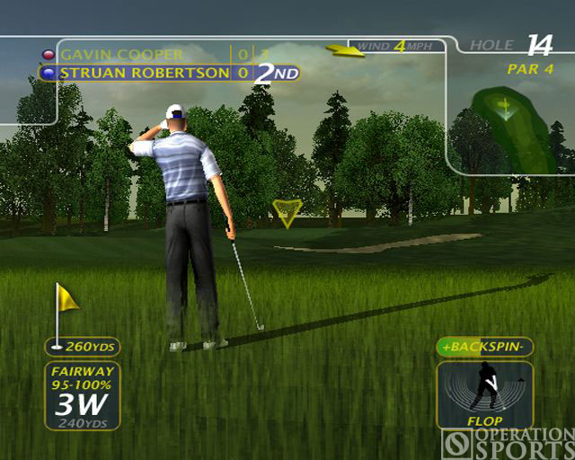 ProStroke Golf - World Tour 2007 Screenshot #1 for PS2