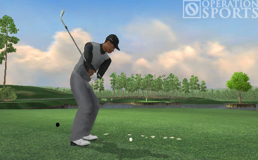 Tiger Woods PGA TOUR 07 Screenshot #1 for Wii