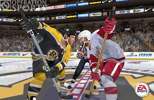 NHL 2005 Screenshot #1 for PS2
