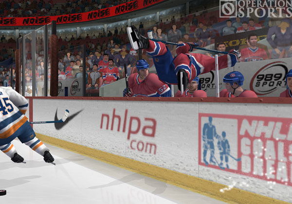 Gretzky NHL 2005 Screenshot #1 for PS2