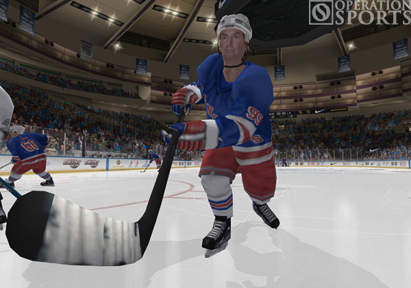 Gretzky NHL 2005 Screenshot #2 for PS2
