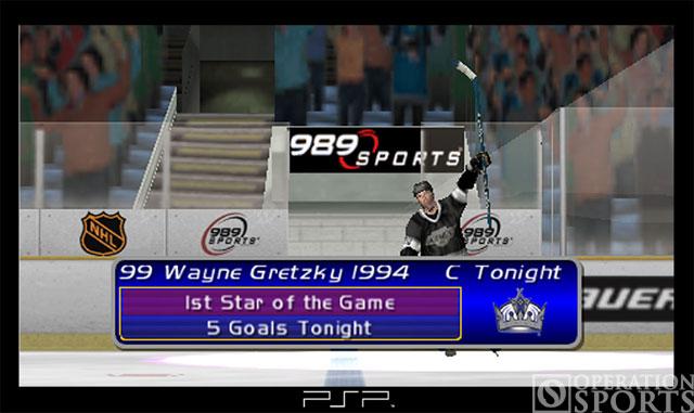 Gretzky NHL Screenshot #1 for PSP