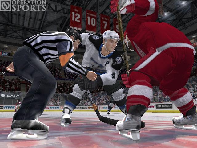 NHL 06 Screenshot #1 for Xbox