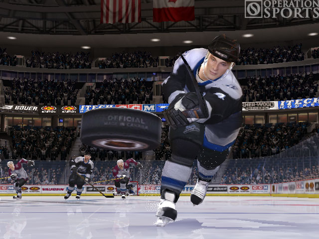NHL 06 Screenshot #2 for Xbox