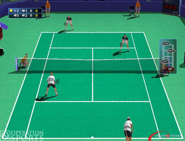 Agassi Tennis Generation Screenshot #1 for PS2