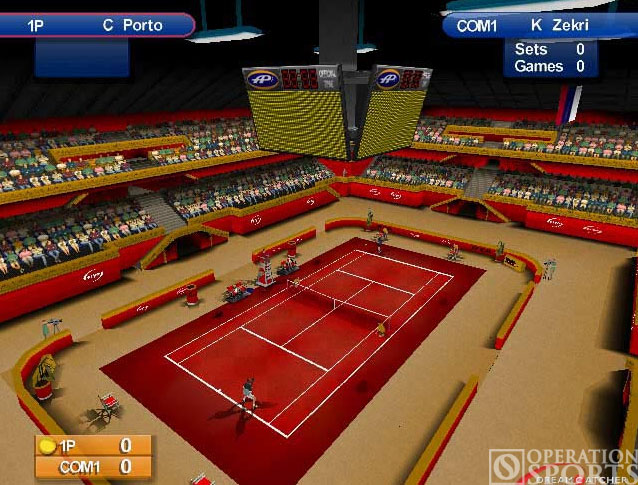 Agassi Tennis Generation Screenshot #2 for PS2