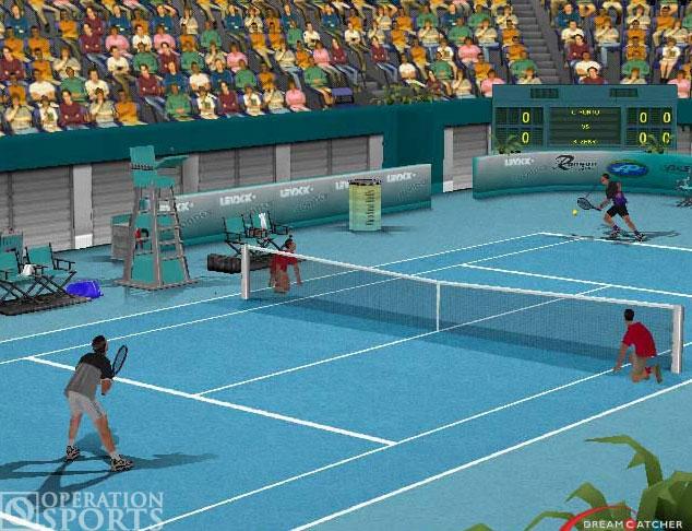 Agassi Tennis Generation Screenshot #4 for PS2