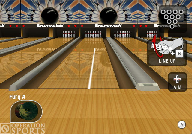 Brunswick Bowling Screenshot #1 for Wii