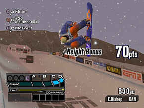 ESPN Winter X Games Snowboarding 2002 Screenshot #2 for PS2