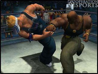 Def Jam Vendetta Screenshot #2 for PS2