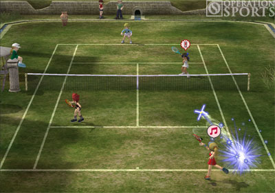 Hot Shots Tennis Screenshot #4 for PS2
