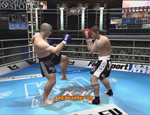 K-1 World Grand Prix Screenshot #1 for PS2