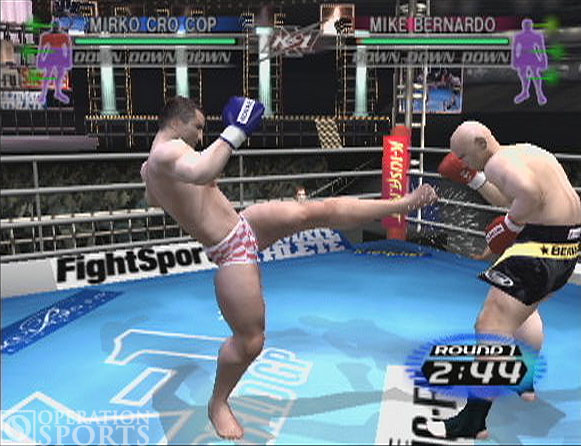 K-1 World Grand Prix Screenshot #4 for PS2