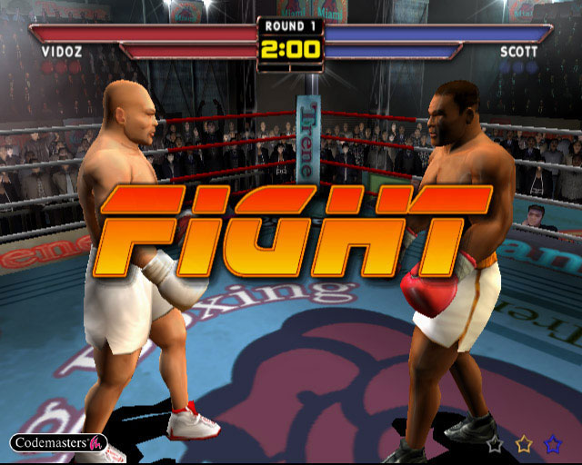 Mike Tyson Heavyweight Boxing Screenshot #1 for Xbox