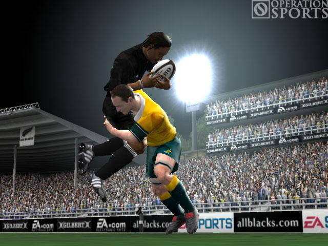 Rugby 2005 Screenshot #2 for Xbox