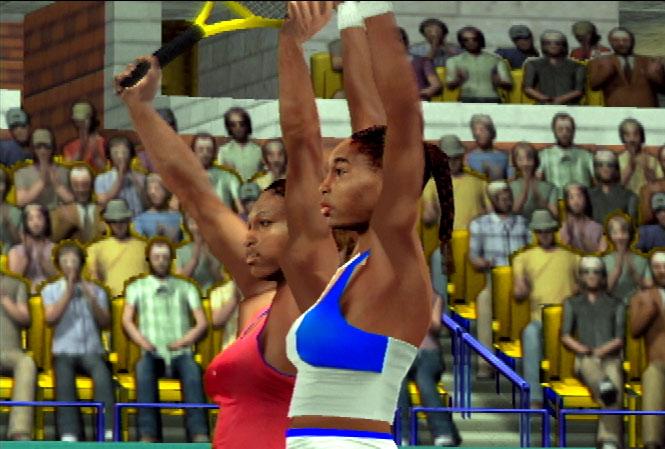 Sega Sports Tennis Screenshot #1 for PS2