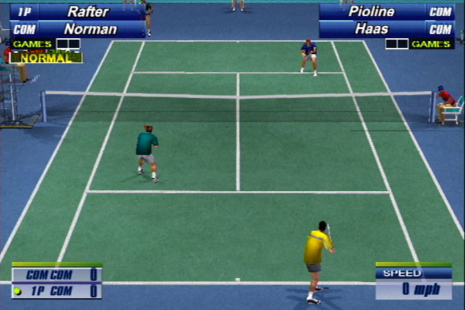 Sega Sports Tennis Screenshot #2 for PS2